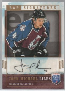 2006-07 Be A Player Signatures #JL John-Michael Liles