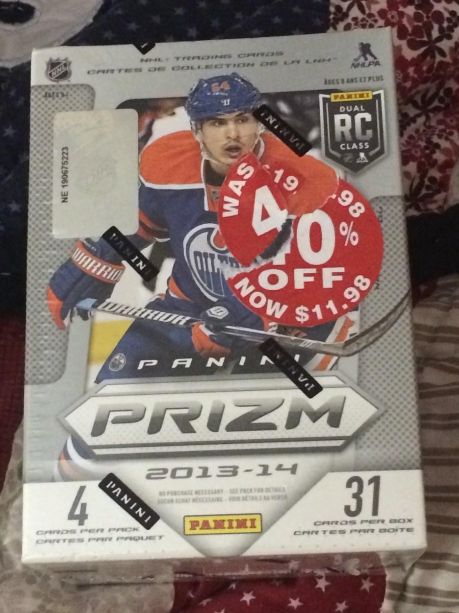 BOX BREAK:  2013-14 Panini Prizm Hockey Blaster