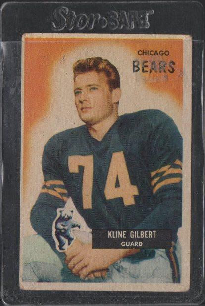 1955 Bowman #49 Kline Gilbert