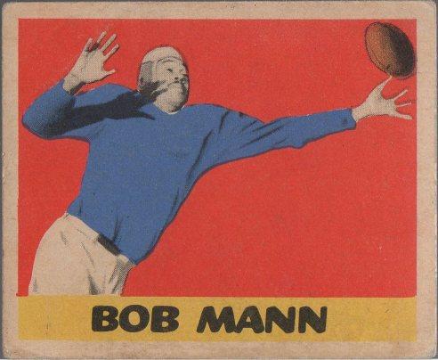 1949 Leaf #17 Bob Mann