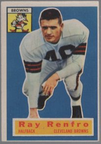 1956 Topps #69 Ray Renfro