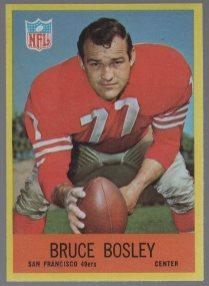 1967 Philadelphia #171 Bruce Bosley