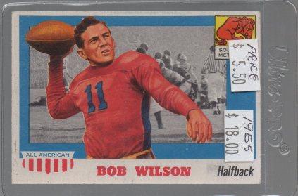 1955 Topps All American #71 Bobby Wilson