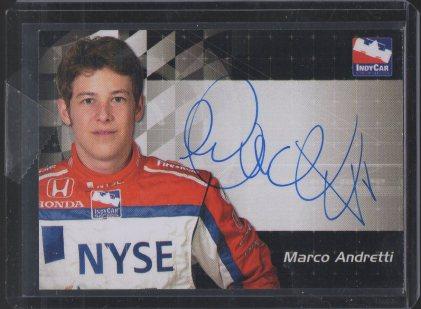 2007 Rittenhouse IRL Autographs #1 Marco Andretti