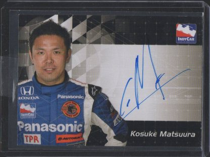 2007 Rittenhouse IRL Autographs #10 Kosuke Matsuura