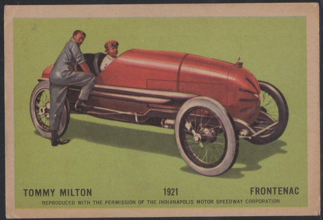 1960 Hawes Wax Indy #9 Tommy Milton