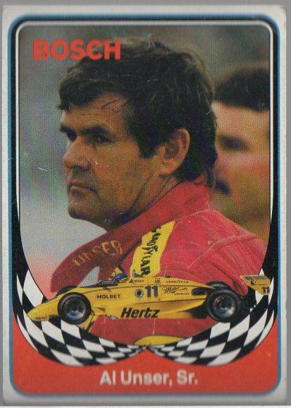 1986 BOSCH INDY #8 AL UNSER, SR.