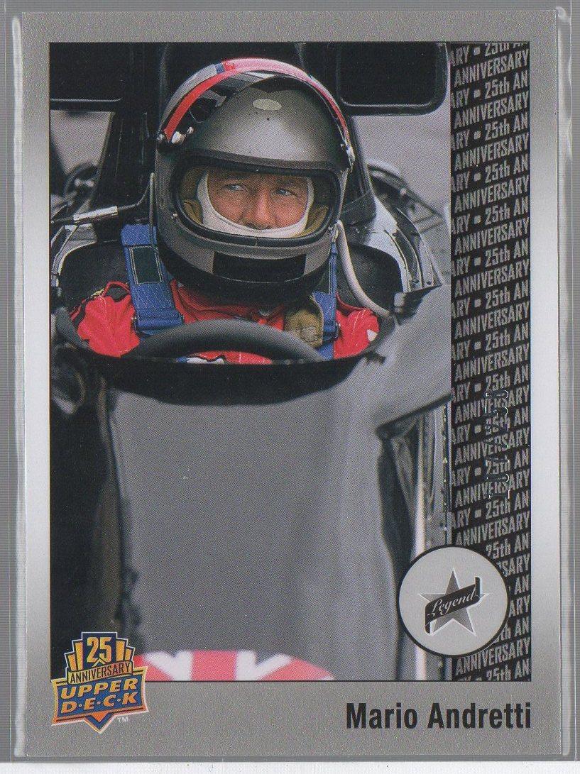 Mario Andretti 2014 Upper Deck 20th Anniversary Silver #46