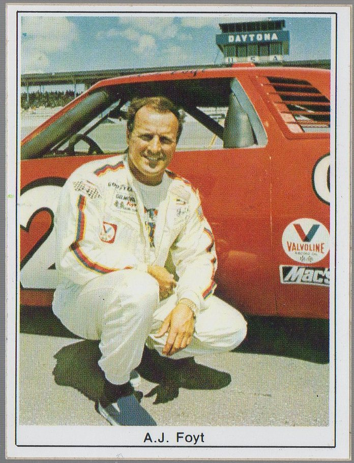 A.J. Foyt 1985 SportStar Photo-Graphics Stickers #AJFO