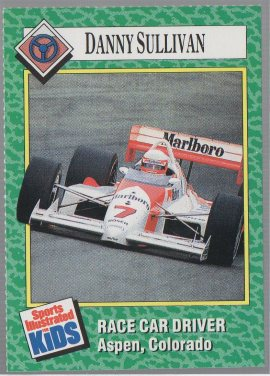 Danny Sullivan 1989-91 Sports Illustrated for Kids #187