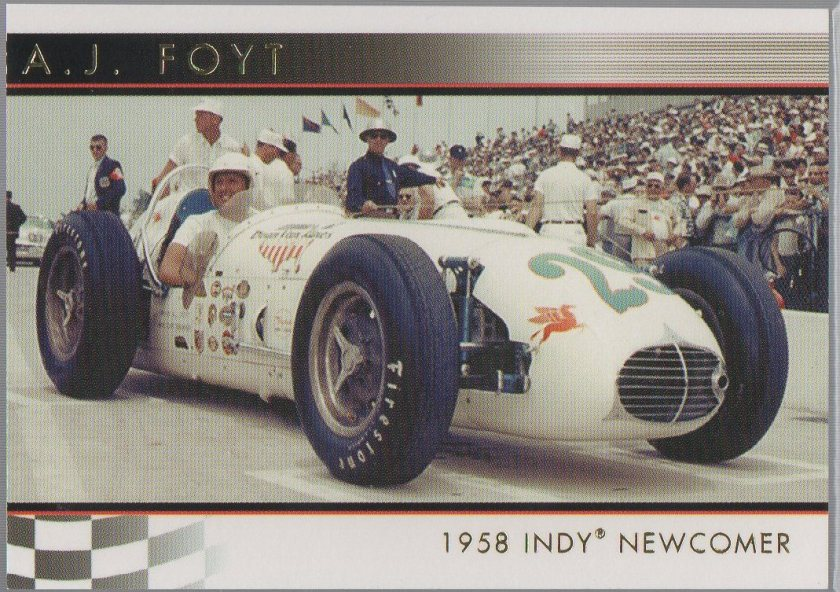 A.J. Foyt 2007 Rittenhouse IndyCar A.J. Foyt 50th Anniversary #01