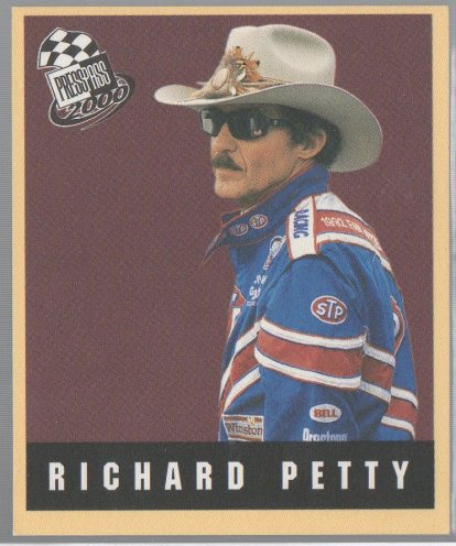 2000 Press Pass Techno-Retro #TR34 Richard Petty