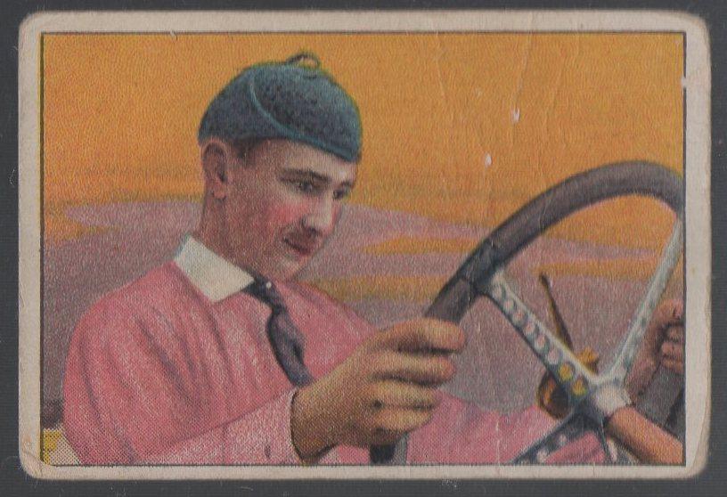 1911 American Tobacco Auto Drivers #2 Bob Burman (Hassan Back)