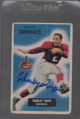 1955 Bowman #139 Charley Trippi