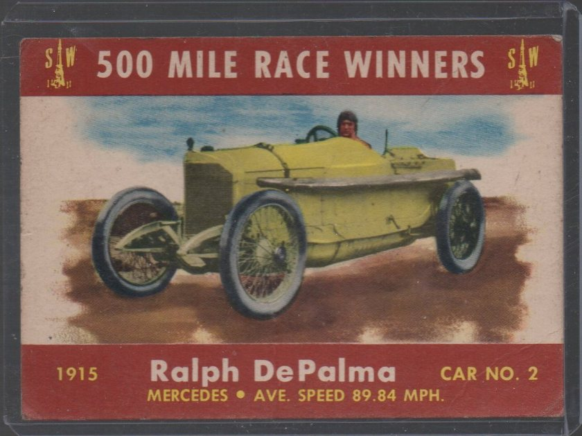 1954 Stark and Wetzel Indy Winners #1915 Ralph DePalma