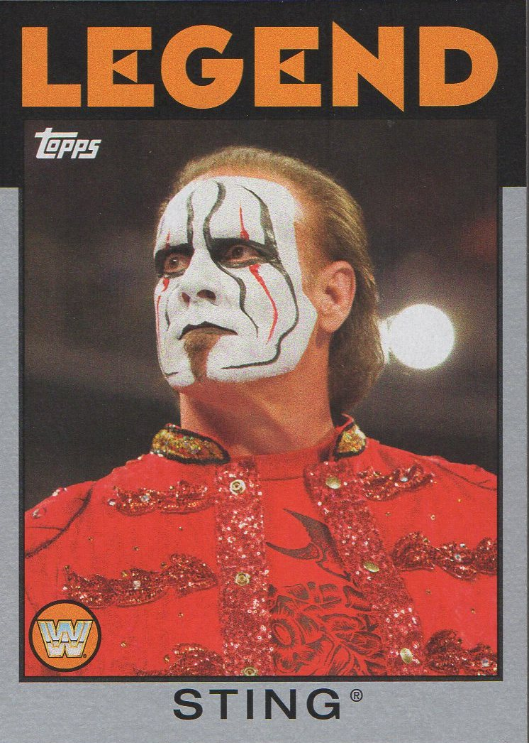 2016 Topps WWE Heritage - Silver #36 Sting S#49/50