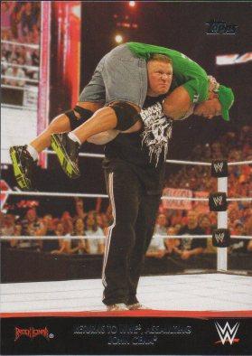 2016 Topps WWE Heritage - Brock Lesnar Tribute #21 Brock Lesnar