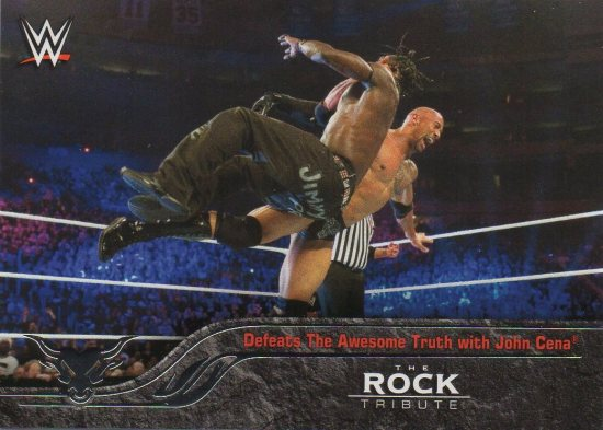 2016 Topps WWE Heritage - The Rock Tribute #29 The Rock