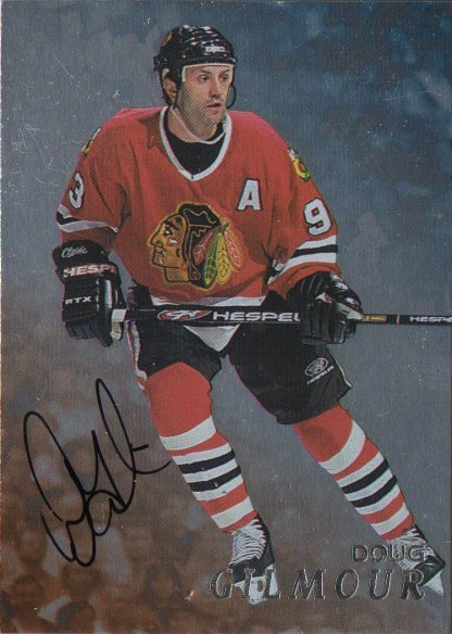 1998-99 Be A Player Autographs #178 Doug Gilmour /450