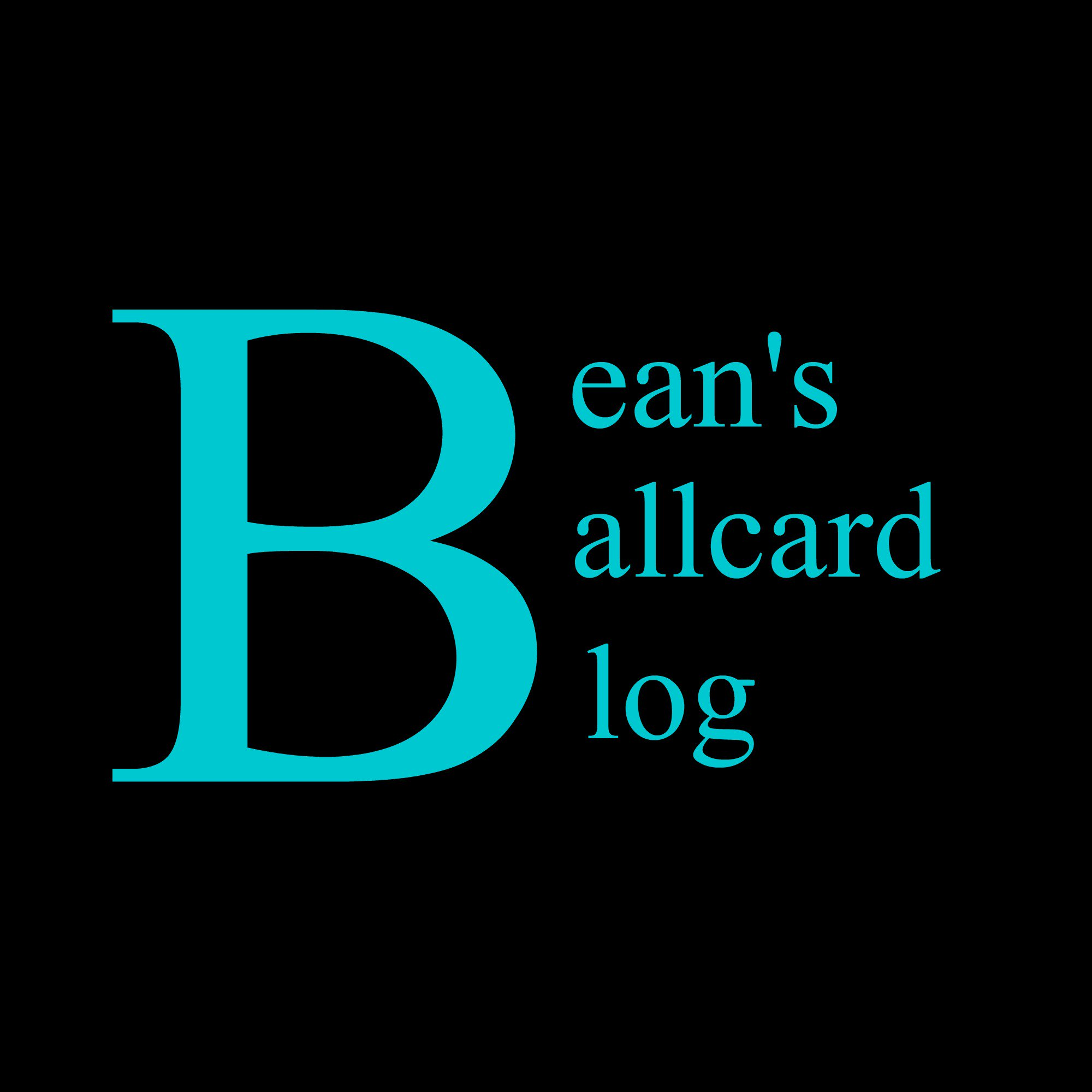 Bean's Ballcard Blog