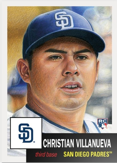 Topps Living Set #38 Christian Villanueva
