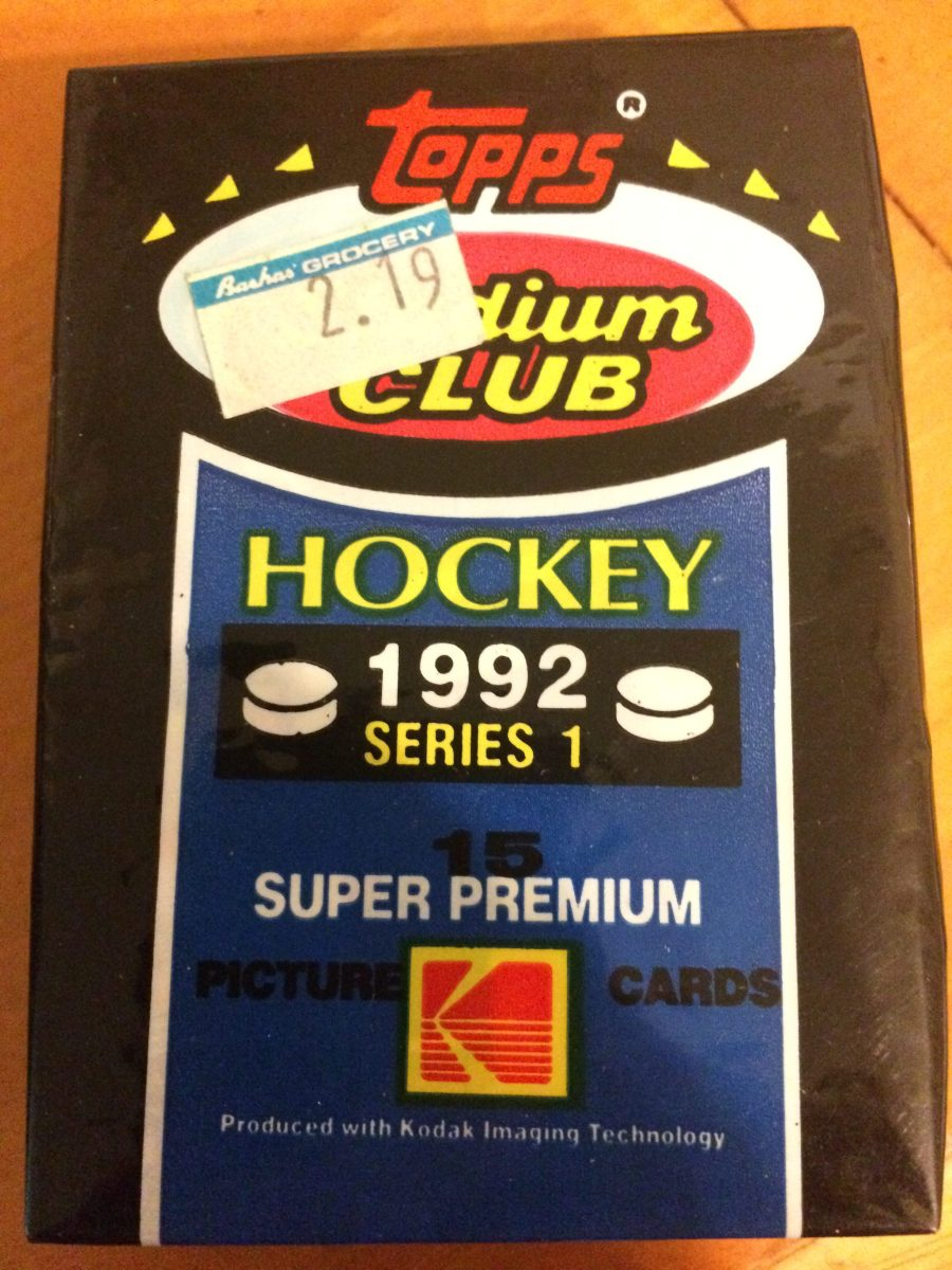 Pack Busting: 1992-93 Stadium Club Hockey