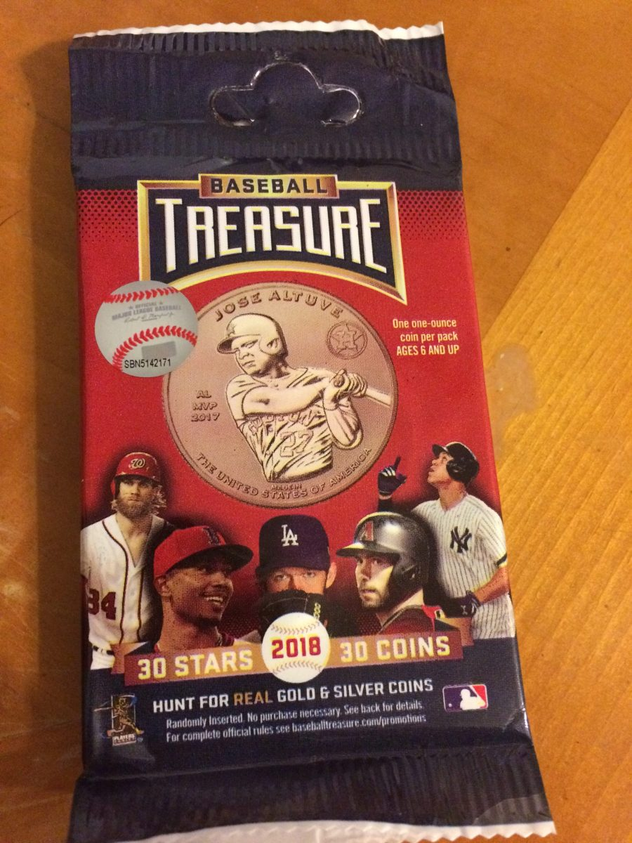 PACK BUSTING:  2018 Baseball Treasure
