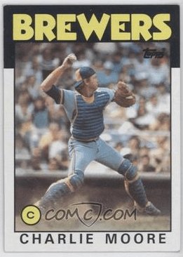 1986 Topps Charlie Moore (via COMC)