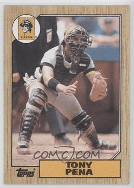 1987 Topps Tony Pena (via COMC)