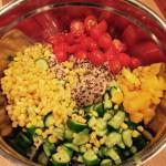 Mango Cucumber Quinoa Salad