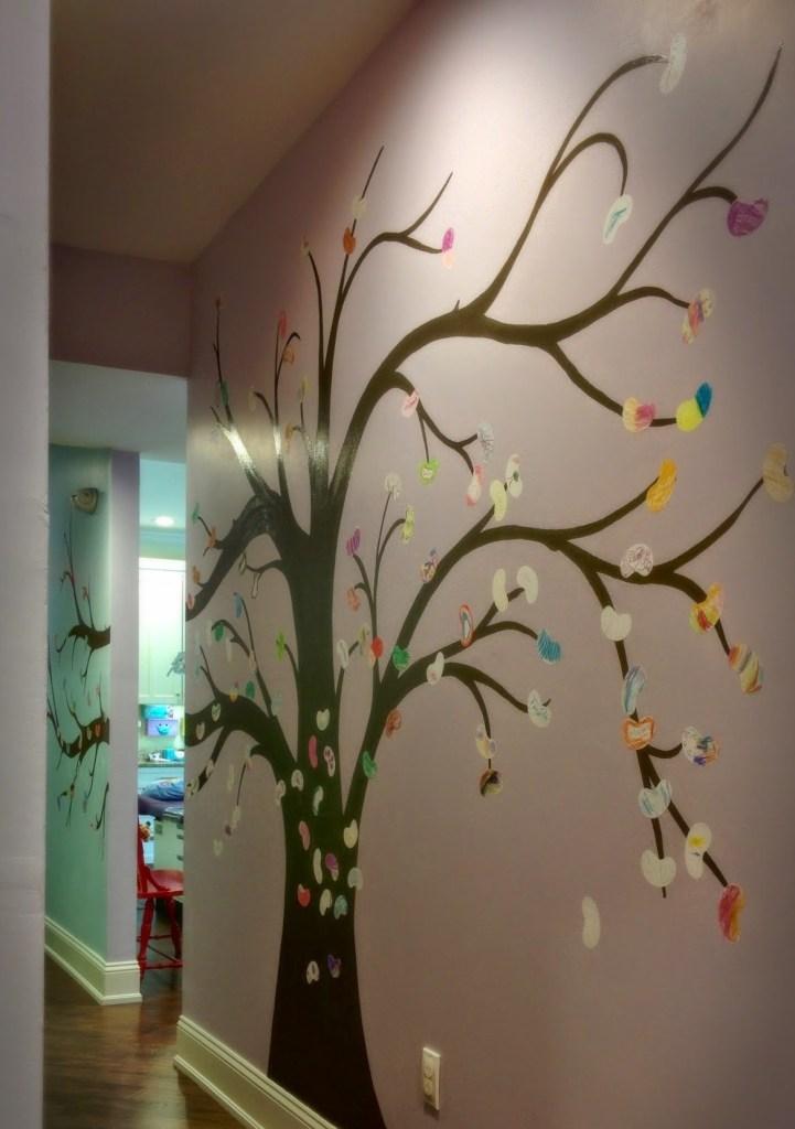 bean tree mural