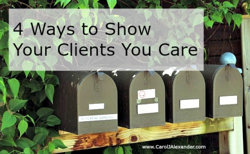 Show Your Clients You Care   Be a Pro Writer