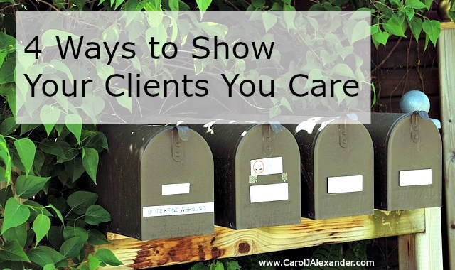 Show Your Clients You Care | Be a Pro Writer