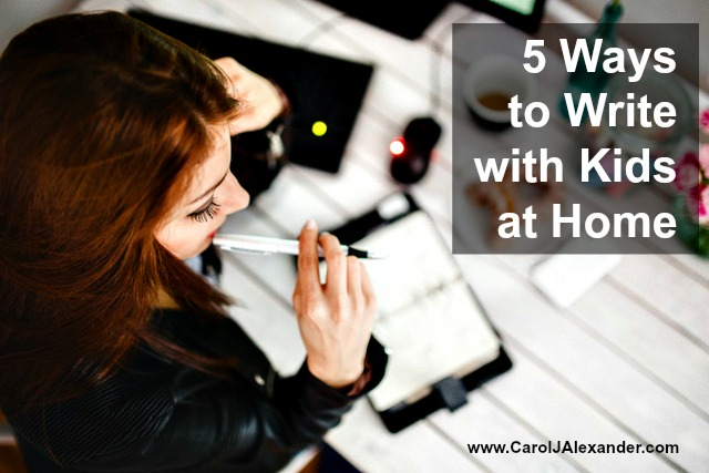 5 Ways to Write with Kids at Home | Be a Pro Writer