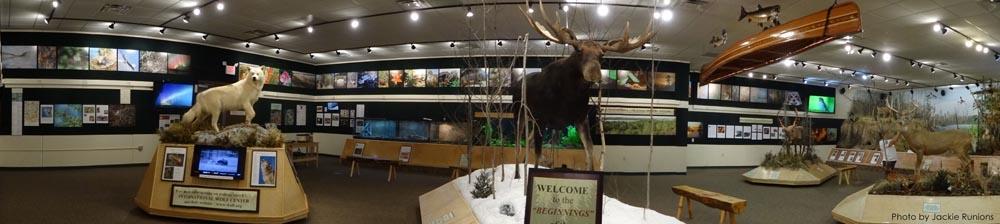 Northwoods Ecology Hall Panoramic