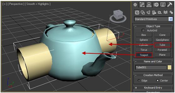 【3D MAX教學】布林運算運用