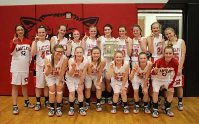 Jr Ladycats Win District Tournament