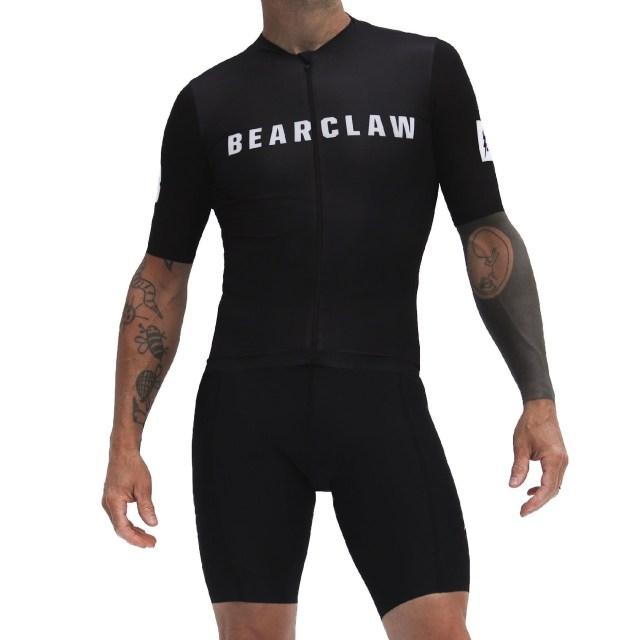 Bearclaw Black Cycling Jersey