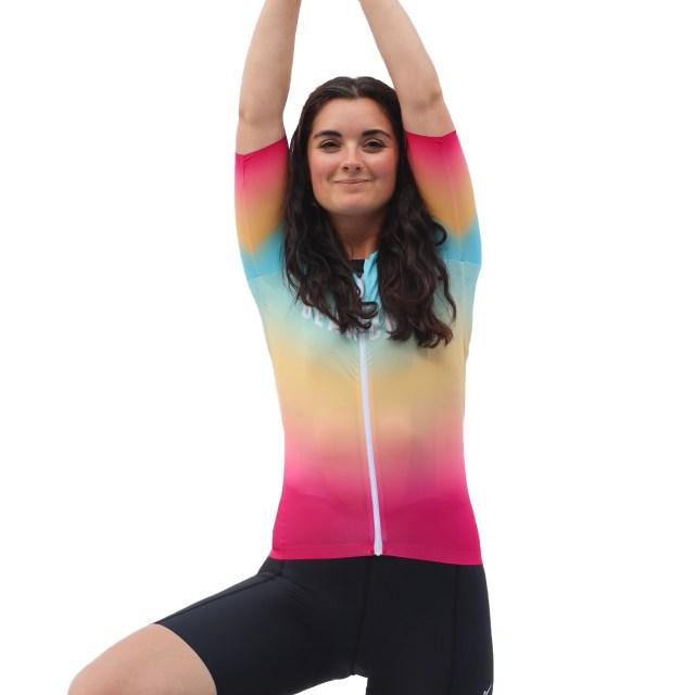 Bearclaw Women Race Cut Cycling Jersey