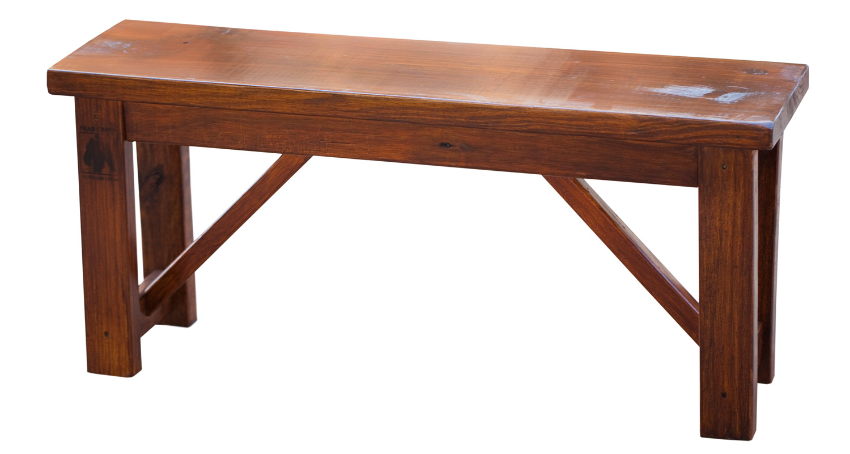 Community Bench - Dark Oak - Pressure Treated Wood