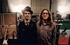 Omar Rodriguez Lopez with John Frusciante
