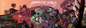 American Sharks Self Titled Album Cover
