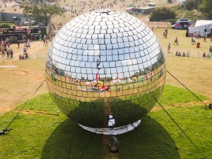 Bestival Disco Ball
