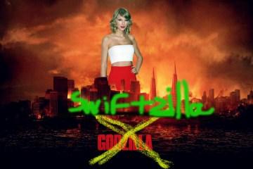 Taylor Swift Godzilla