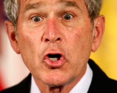 George Bush Monkey Face