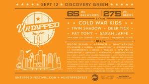 Untapped Fest Houston Beer List