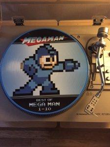 Mega Man Picture Disk