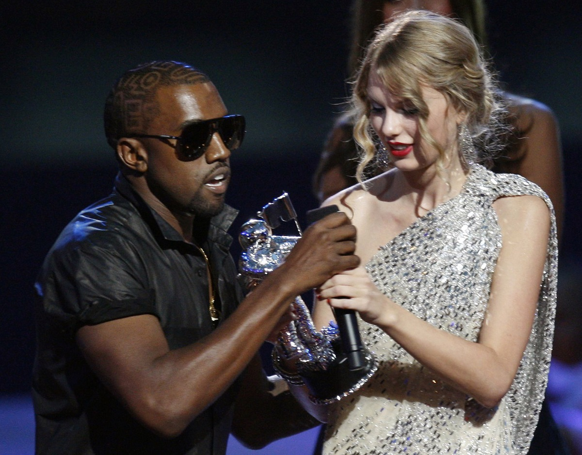 2009 VMA Speech Taylor Swift Kanye West