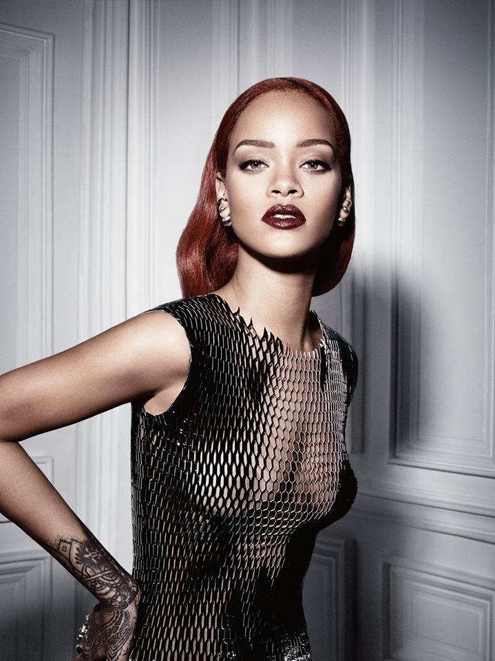 Rihanna Nipples