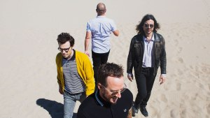 Weezer on the beach